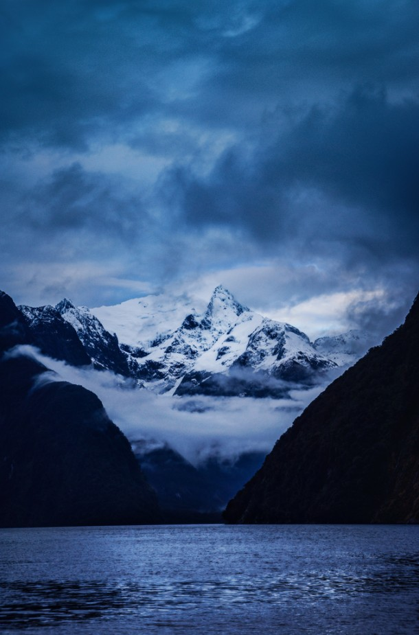 Deep in Milford Sound by Stuck in Customs