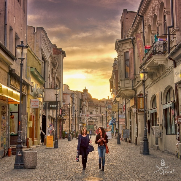 Top Places To Visit Romania: The Old City Of Bucharest Romania