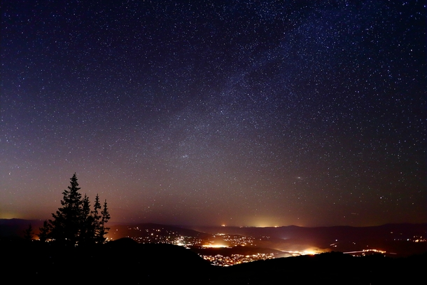 how to take clear pictures of the night sky