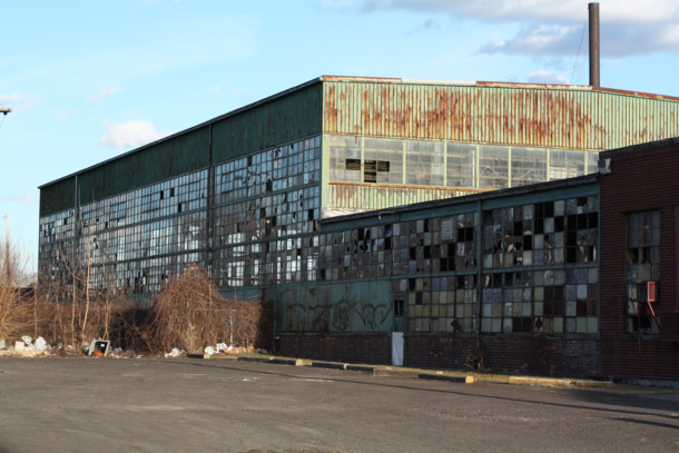 a few shots I took of an Abandoned WarehouseFactory down the block quite literally  -- album in comments --