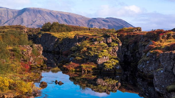 A Perfect September Day at ingvellir Iceland