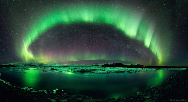 A Starry Night over Iceland Photo Credit Stephane Vetter