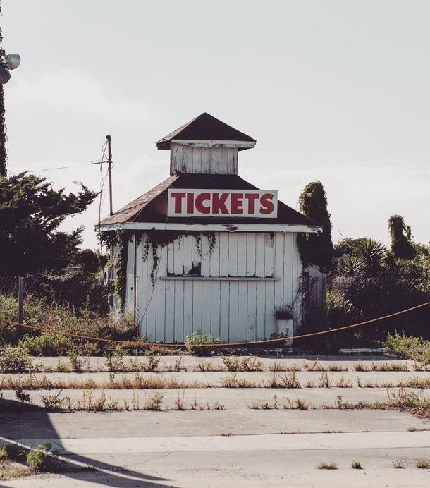 A ticket booth I found along the Outer Banks in North Carolina