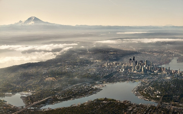 A unique view of Seattle  X-post rseattle