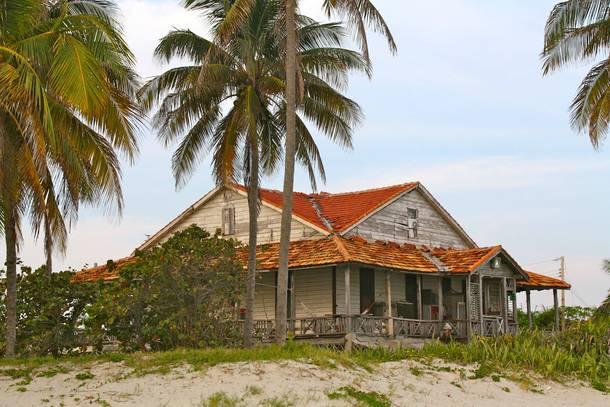 Abandoned Beach House Cuba X Oc