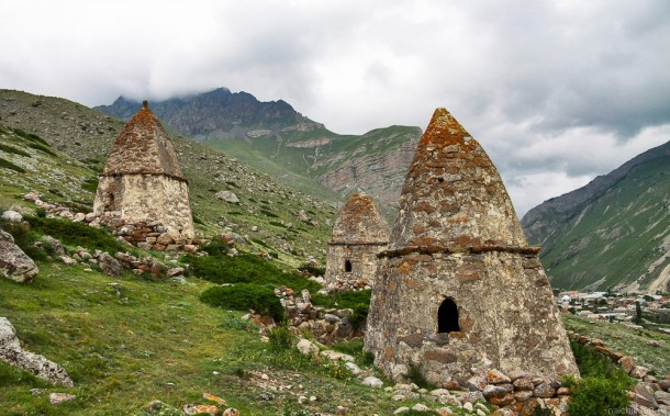 Huts Boothes In National Russian 79