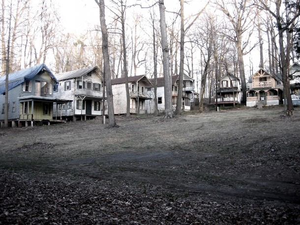 Abandoned Church Commune  Camp Meeting Chester Heights PA more pics links and history in comments