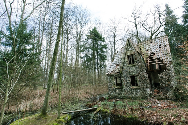 Abandoned Cottage Deep In The Forests Of Denmark Photorator