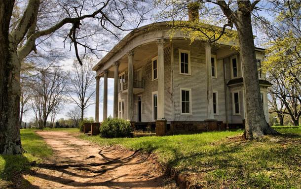 Abandoned Cotton Plantation Bostwick Georgia Photorator