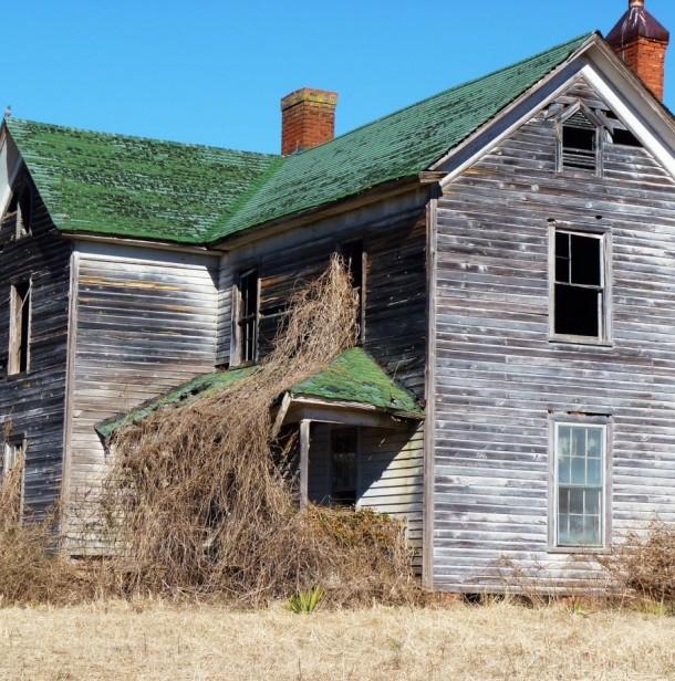 Abandoned North Carolina Homes: Abandoned Farm House North Carolina X