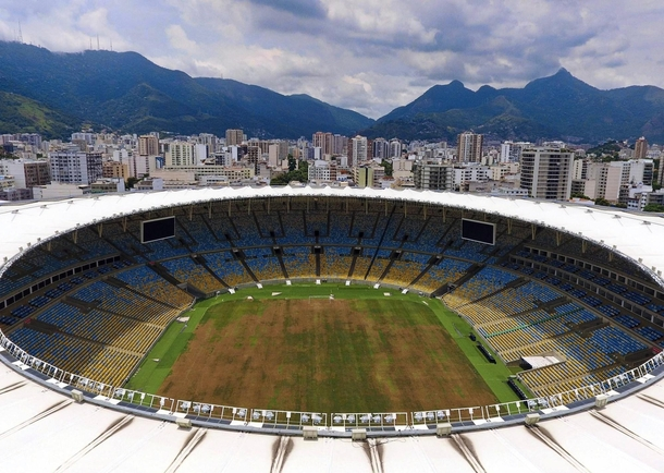 Abandoned FIFA World Cup Football Stadium Brazil