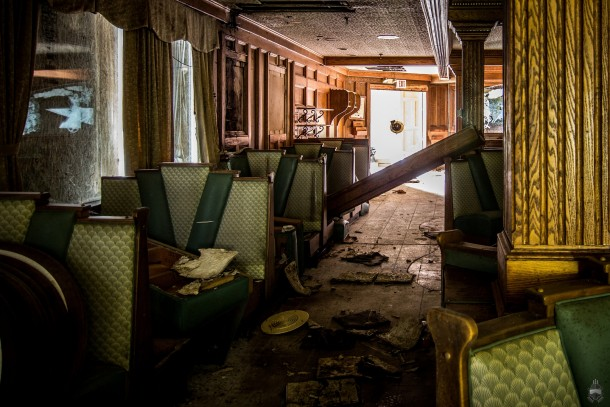 Abandoned Forum Diner NJ
