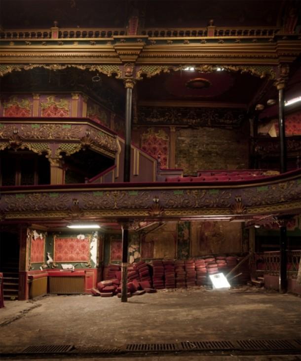 Abandoned Buildings Newcastle Uk: Abandoned Hippodrome Manchester UK