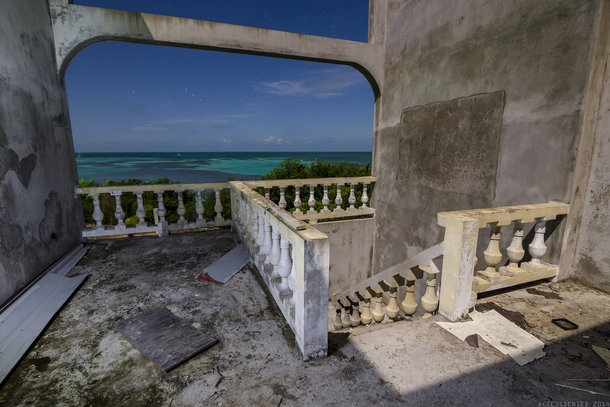 Abandoned hotel in Caye Caulker Belize  by Access