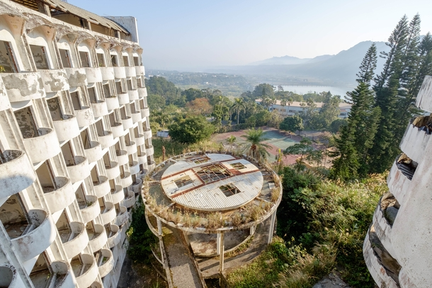 Abandoned hotel somewhere in China
