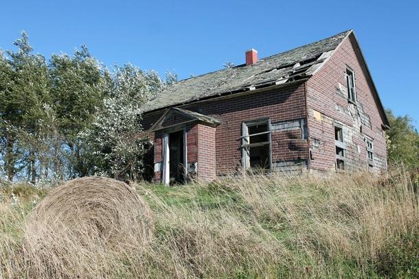 Abandoned House Near Bridgetown Nova Scotia Canada