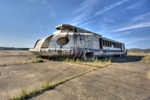 Abandoned Hovercraft Rotting Away on a Disused Florida Airfield