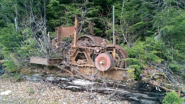 Abandoned Logging Equipment