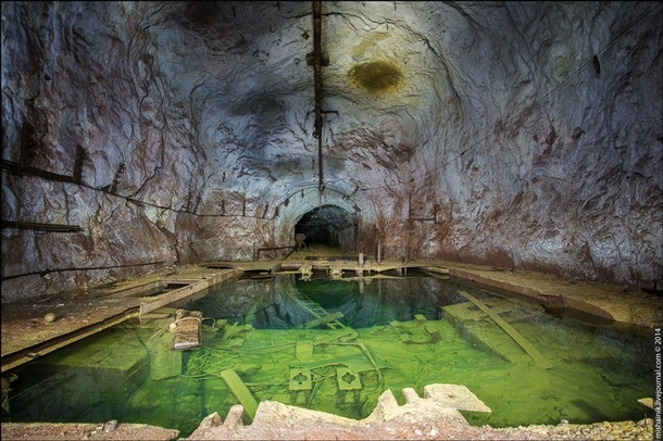 Abandoned mine in the Ural Mountains Russia by Mishainik Gallery from OS in comments