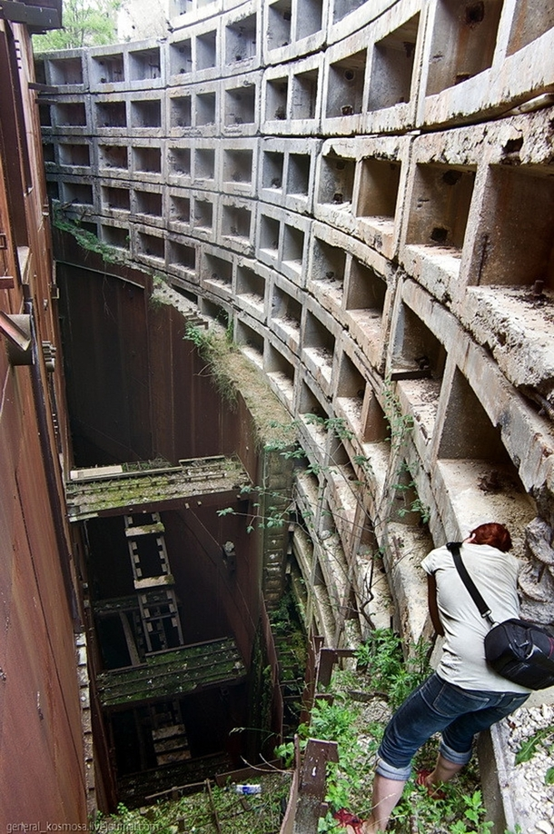 Abandoned Nuclear Bunker Missile Silo This is one of the