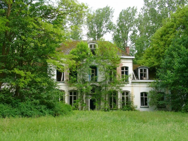 Abandoned Orphanage In The Woods Belgium Photorator