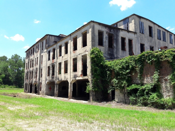 Abandoned s meat factory