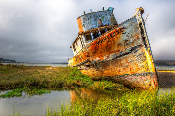 Abandoned Ship Point Reyes California