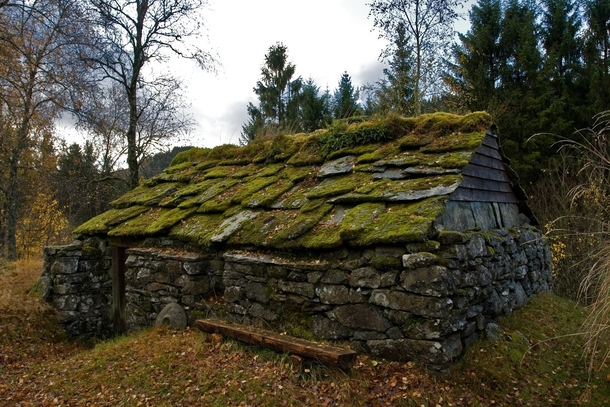 Abandoned Stone Cottage In Gjerstad Norway Photo By PASO