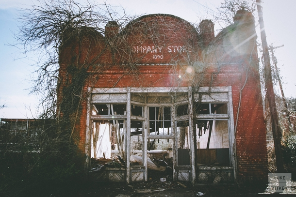 Abandoned store off of a backroad in SC USA