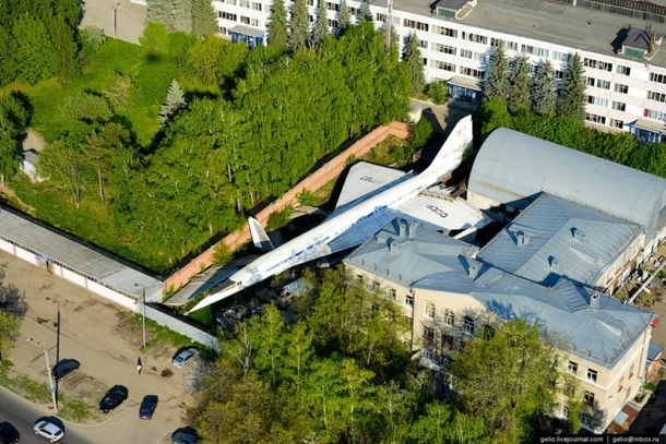 Abandoned Supersonic TU- in a Russian backyard By Gelio