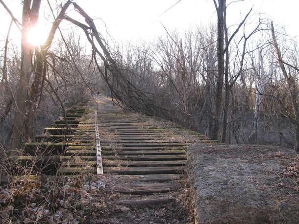 Abandoned th century railroad bridge - New Albany Indiana full album in comments