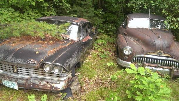 Abandoned vehicles throughout Wisconsin USA