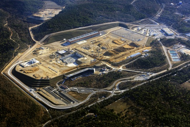 Aerial View of the International Thermonuclear Experimental Reactor ITER Site Under Construction in the South of France