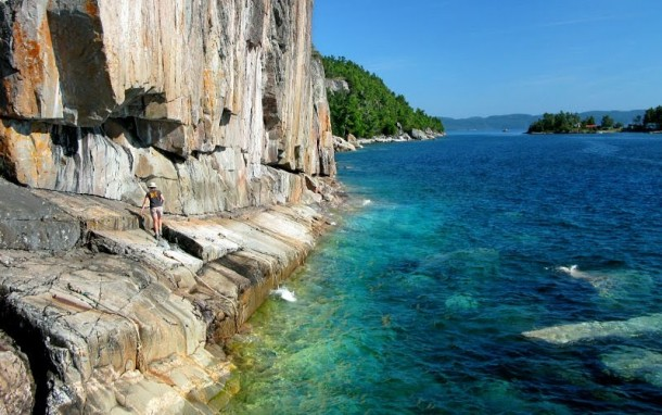 Agawa Rock Lake Superior Ontario Canada Photorator