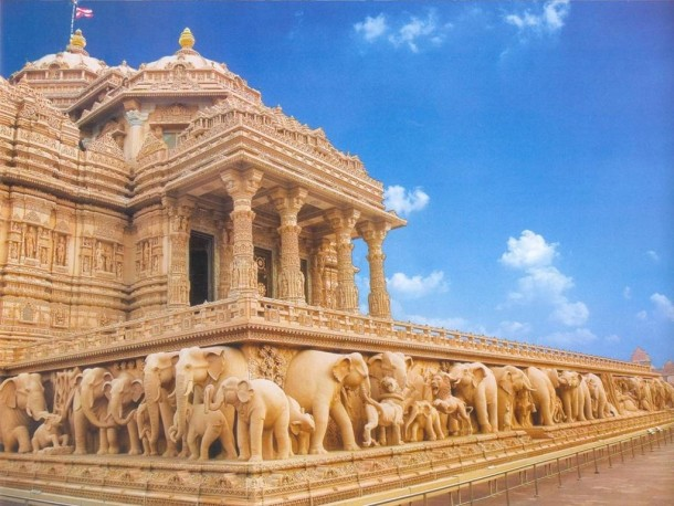 Akshardham temple new delhi india photorator for Spaces architects safdarjung