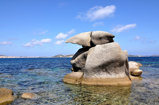 Amazing Rocks Stunning landscape at Palau Sardinia Italy by Franco