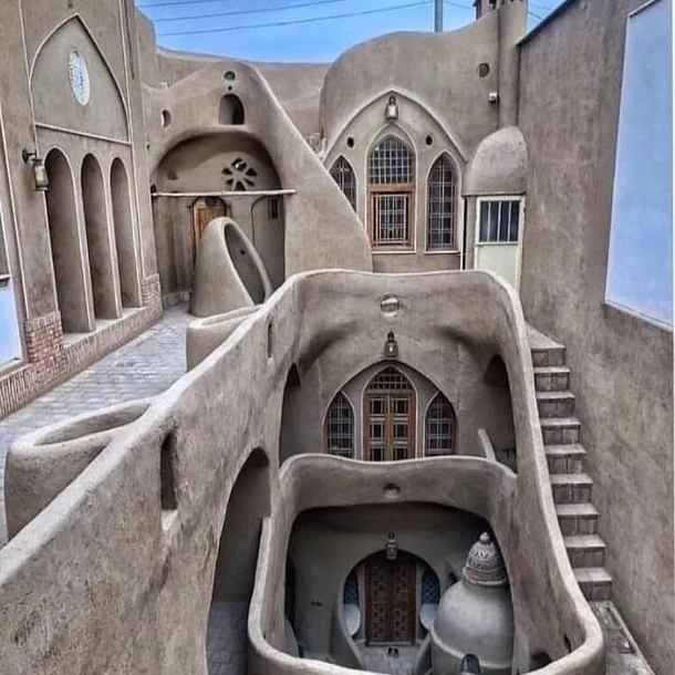 An ancient home in Kashan Iran
