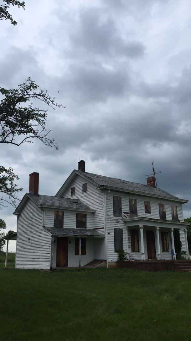 An old farmhouse in New Jersey