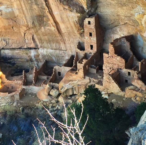 Ancient Pueblo Dwelling dated almost  years ago x