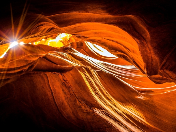 Antelope Canyon is a slot canyon thats hard to photograph but I did my best