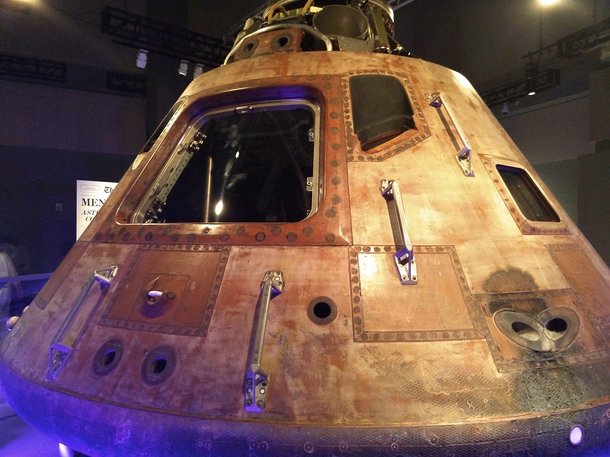 Apollo  Command Module on Display at St Louis Science Center
