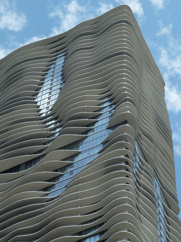Aqua Tower Chicago Illinois Architect Jeanne Gang Photorator