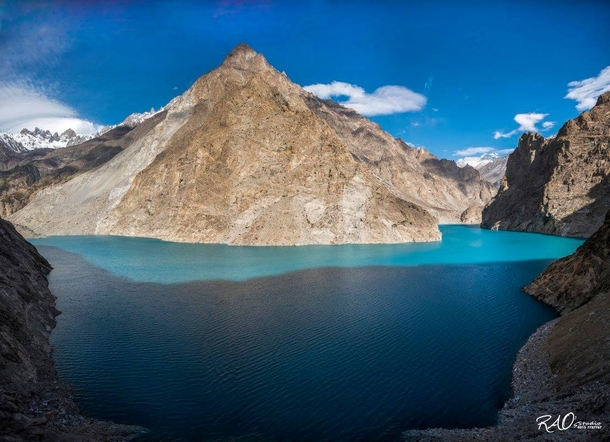 Attabad Lake And The Rugged Karakoram Mountains  Attabad Lake Gojal Pakistan  By Rao Mubasher