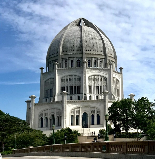 Bah House of Worship Wilmette IL