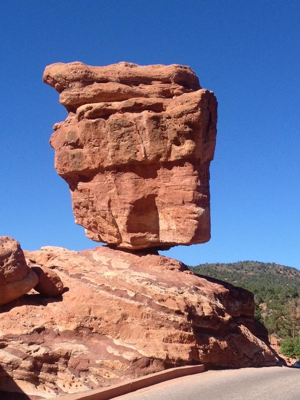 Balanced Rock In Garden Of Gods Co Oc Photorator