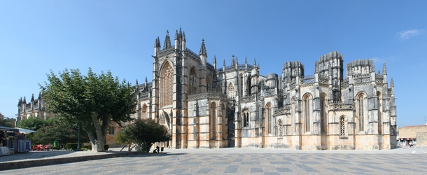 Batalha Monastery building started in  and ended circa  Portugal  by Ingo Mehling  x-post rHI_Res