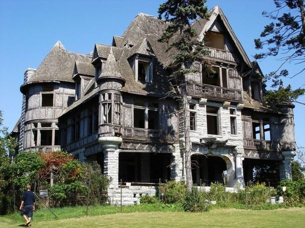 beautiful abandoned mansion currently for sale in carleton ny photorator