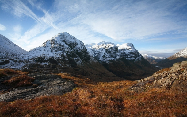Beautiful Mountains in Glencoe Scotland