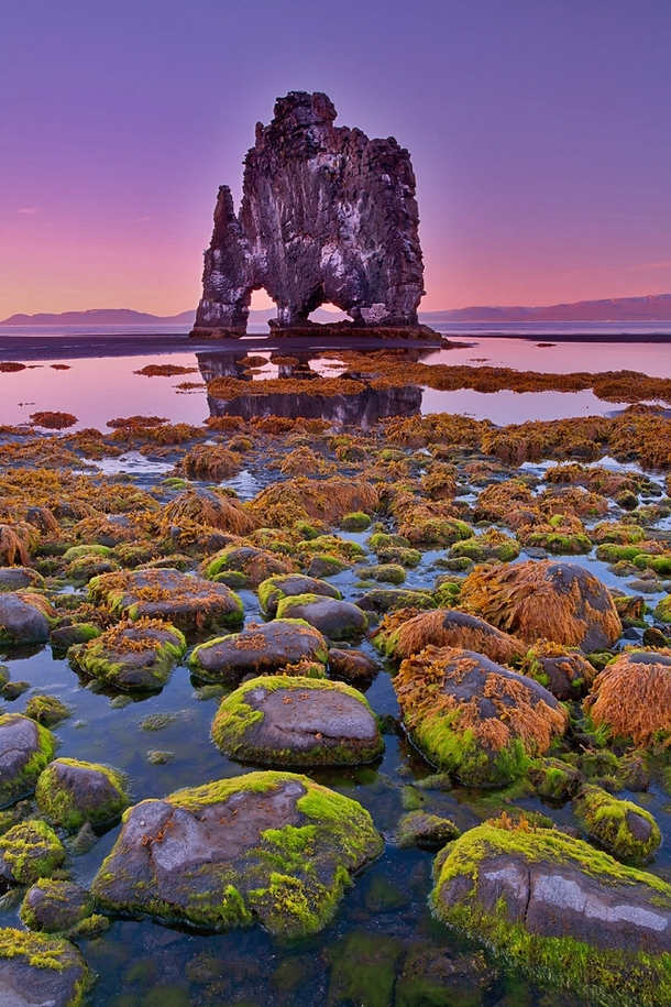 Beautiful Rock Formation In Iceland by Brian Rueb