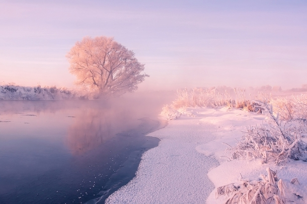 Belarusian river photographed by Alexey Ugalnikov